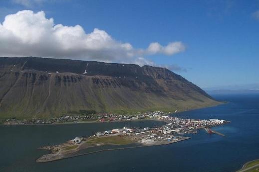 Navigation dans les Fjords de Isafjordur