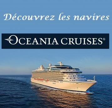 Explorez les navires Oceania
